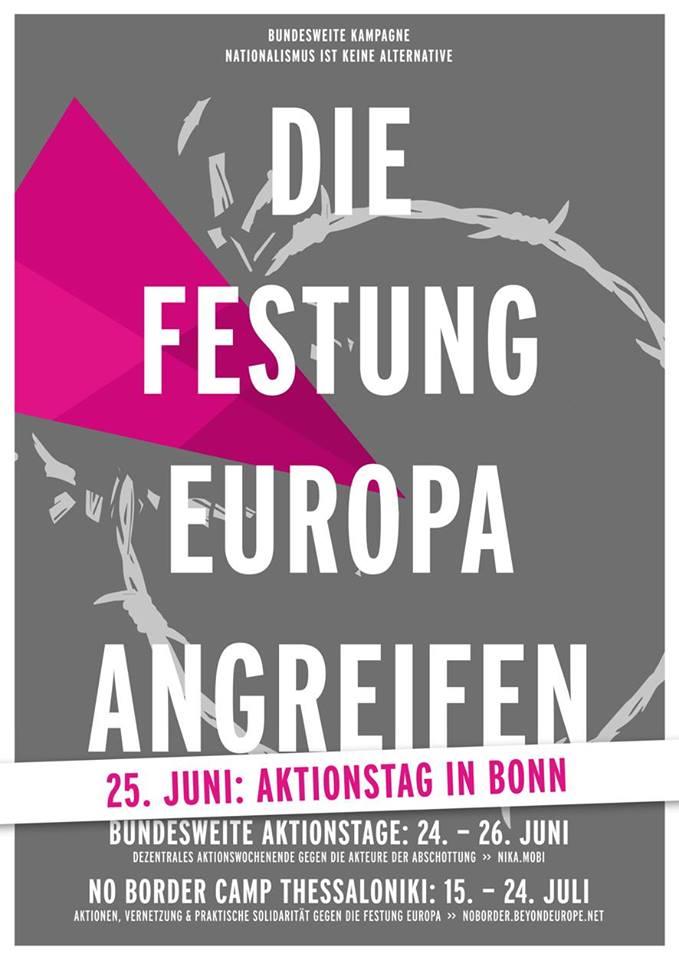 Plakat Aktionstage NikA