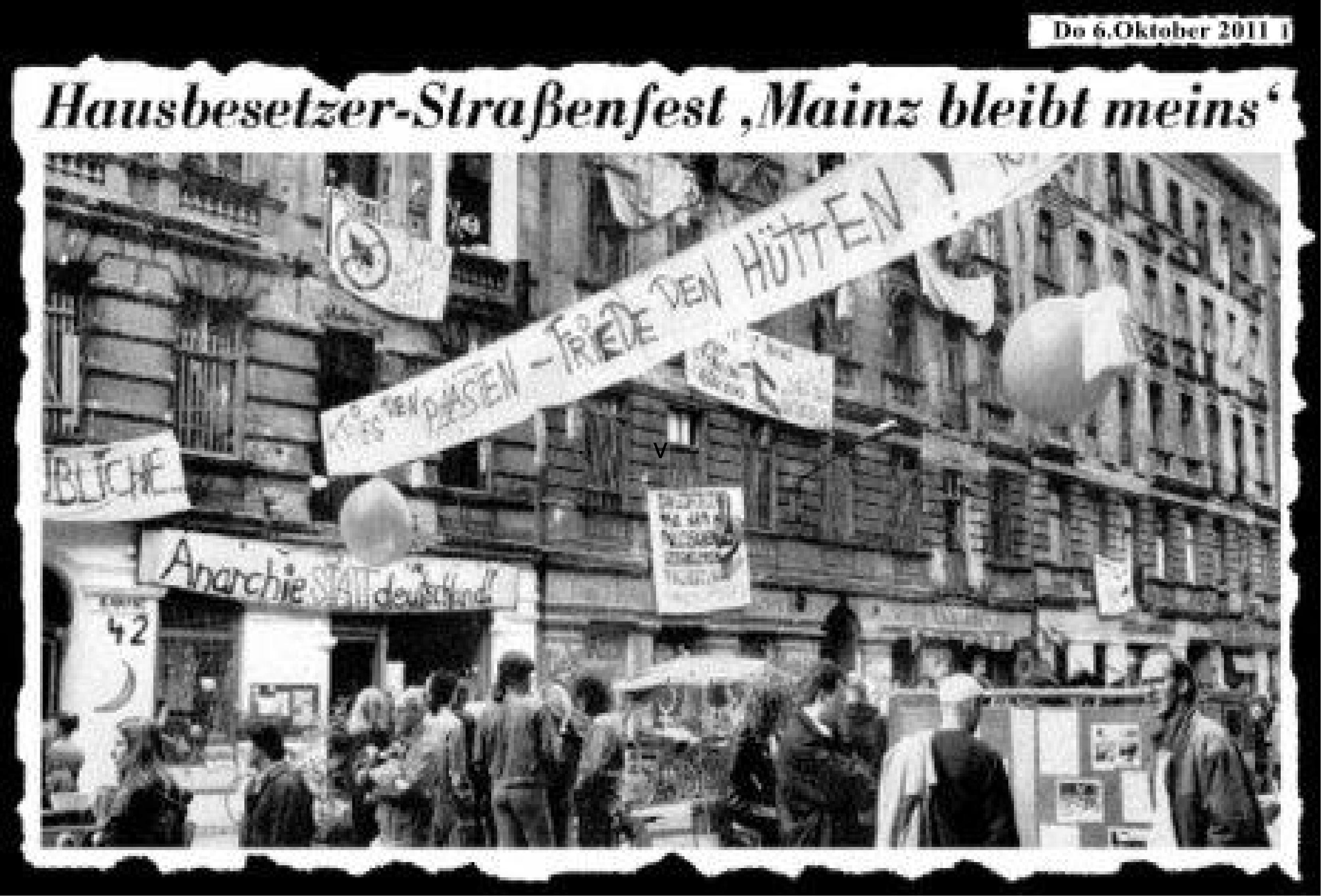 Postkarte Mainzer Strasse
